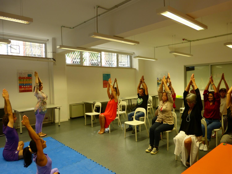 Apresentação das Disciplina Técnicas e benefícios do Yoga Sámkhya aos funcionários do IPDJ - 2016, Outubro
