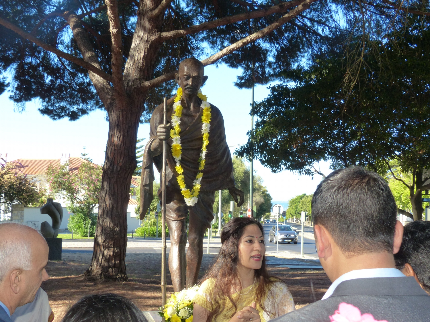 Aniversary of the Birthday of Gandhi Jí - 2016, October, 2nd - Organization: Embassy of India