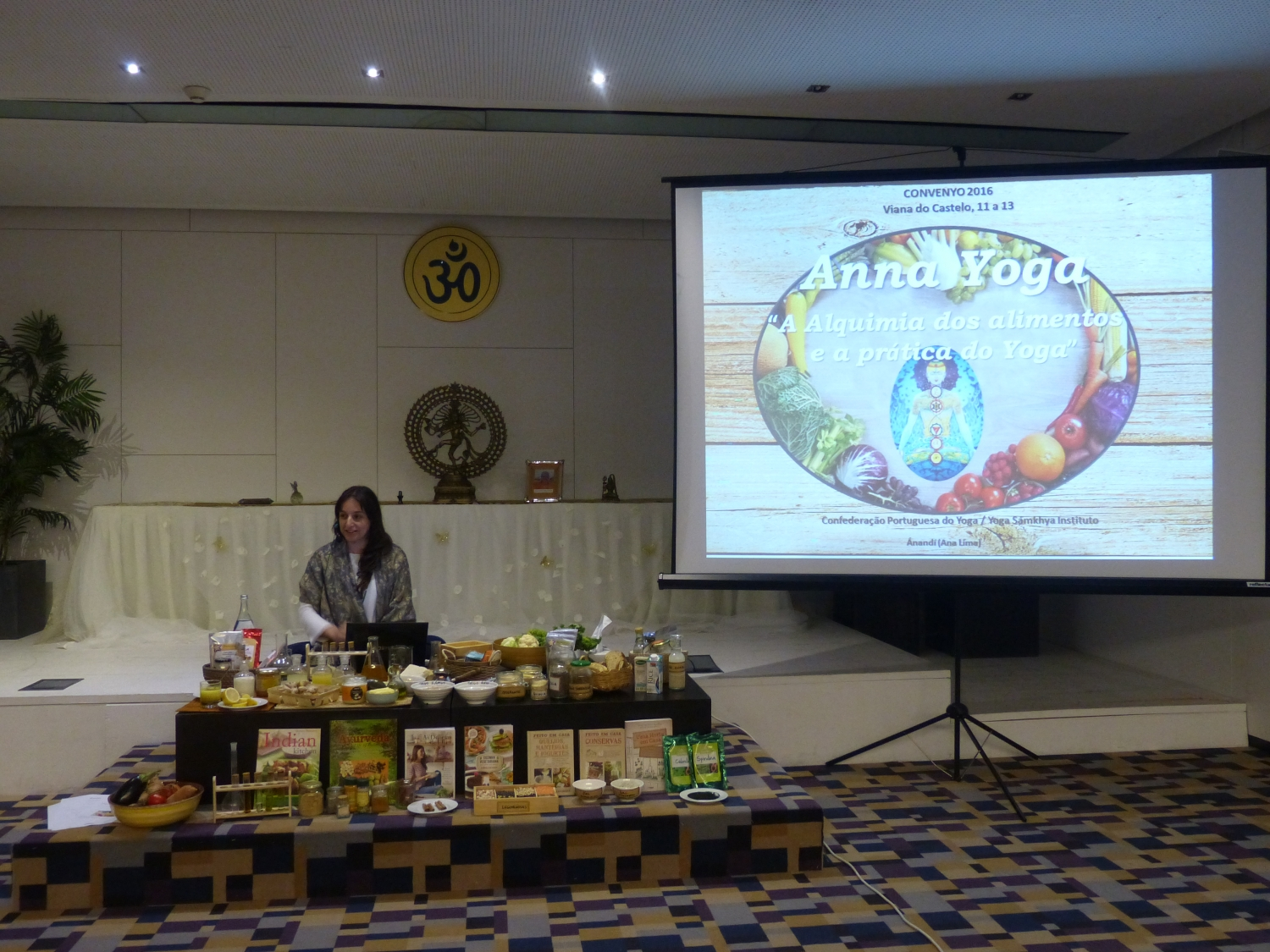 Lecture 'Anna Yoga : Alchemy of food and Yoga practice' (Prof. Ánandí)