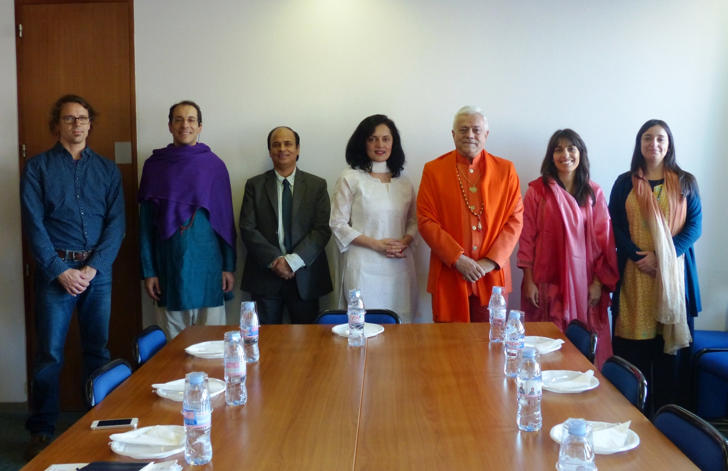 Meeting with H.E. the Ambassador of India to UNESCO, Ms. Ruchira Kamboj – Paris – 2016, December, 9th