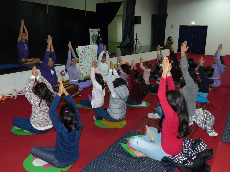 Cours du Yoga pour Enfants - Lisboa, Temple Rádhá Krshna - 2017, février, le 18