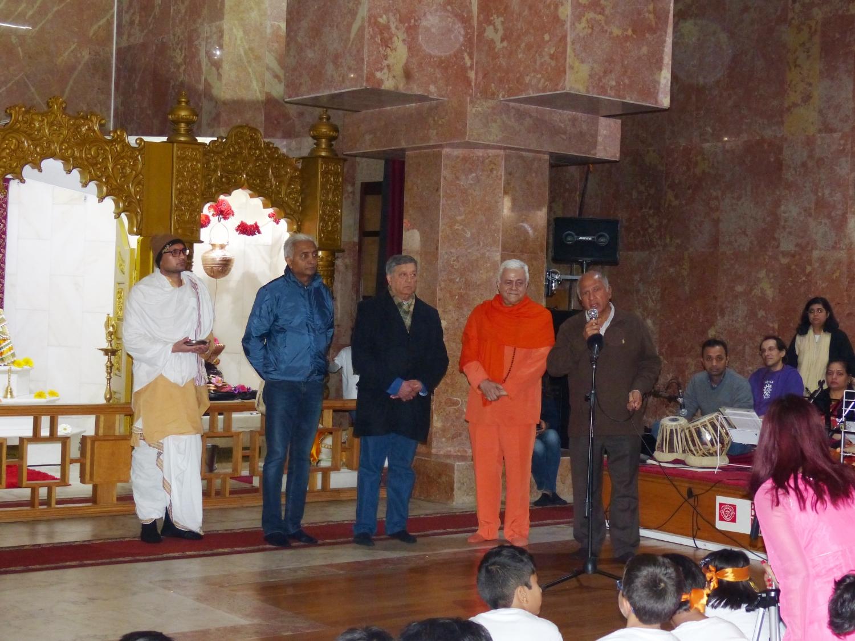 Confédération Portugaise du Yoga à la Communauté Hindoue du Portugal - Lisboa, Temple Rádhá Krshna - 2017, février, le 18