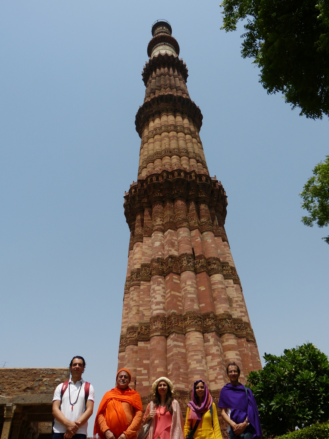 Qutb Minar, New Dillí, India - 2017, June