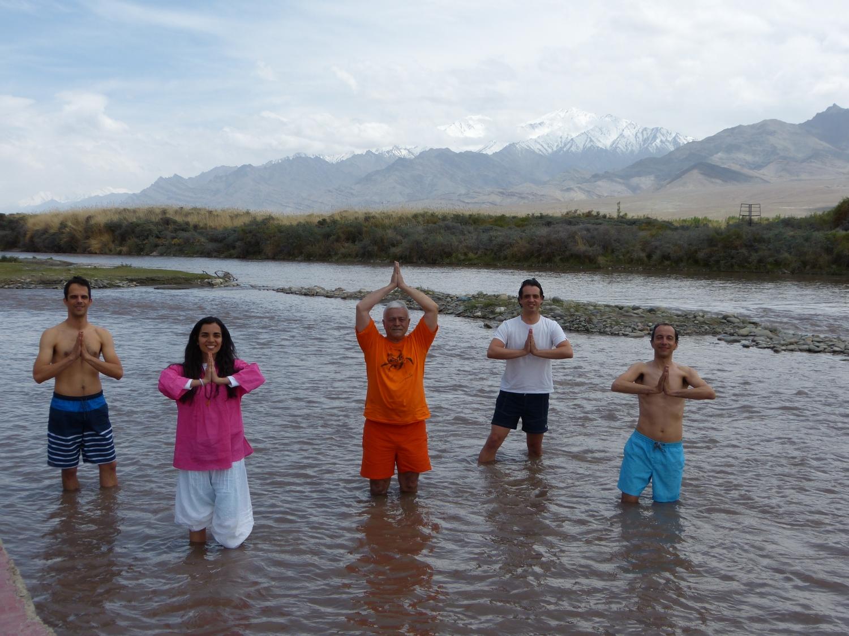 Banho no Sindhu