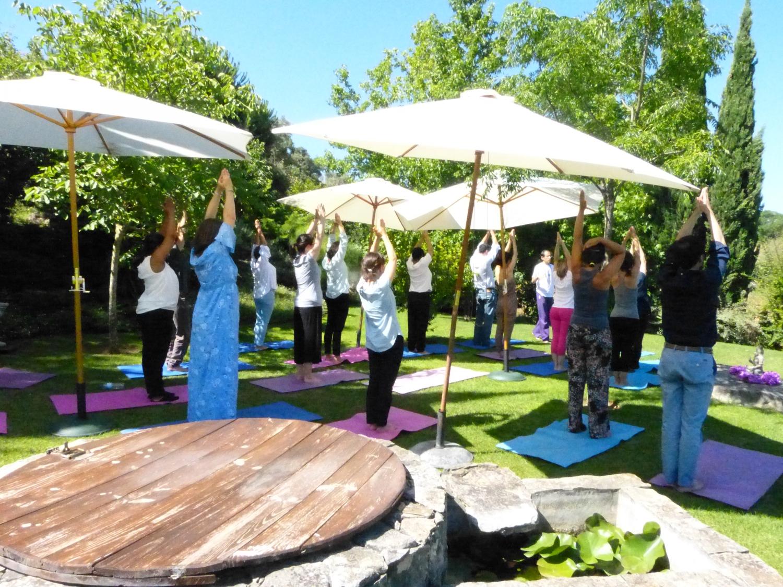 Aula do Yoga Sámkhya para os membros do Alto Comissariado para as Migrações