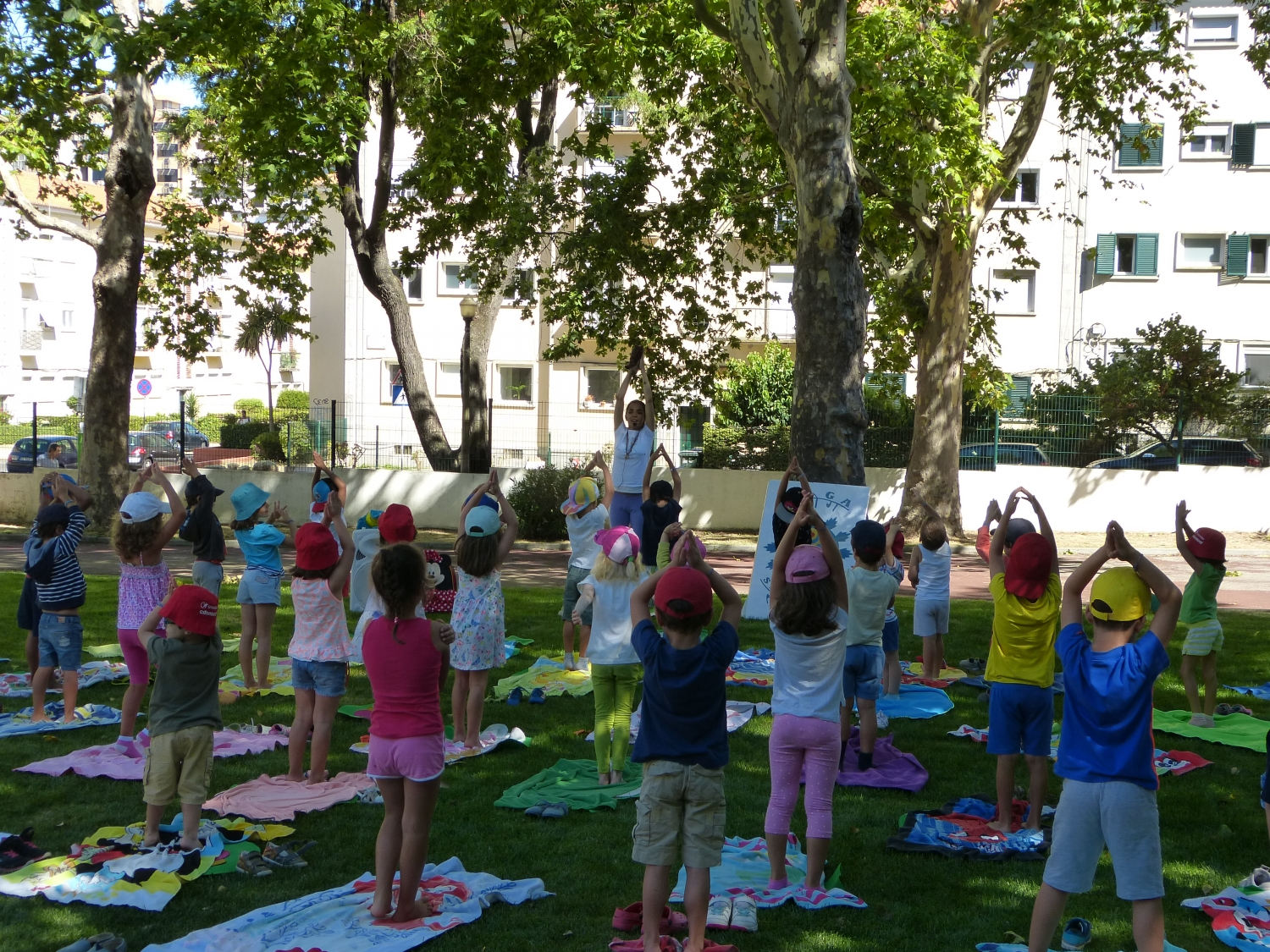 Yoga Sámkhya class for Children - Campo Férias Eb 1 Stº António - 2017, July