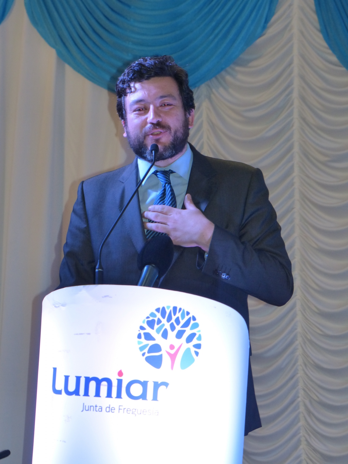 The President of  the Junta de Freguesia do Lumiar, Dr. Pedro Alves