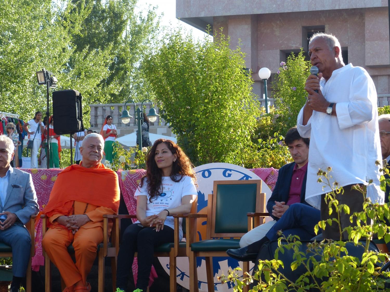 Comemoração do International Day of Yoga - IDY / Dia Internacional do Yoga - 2017 - Lisboa, Comunidade Hindu