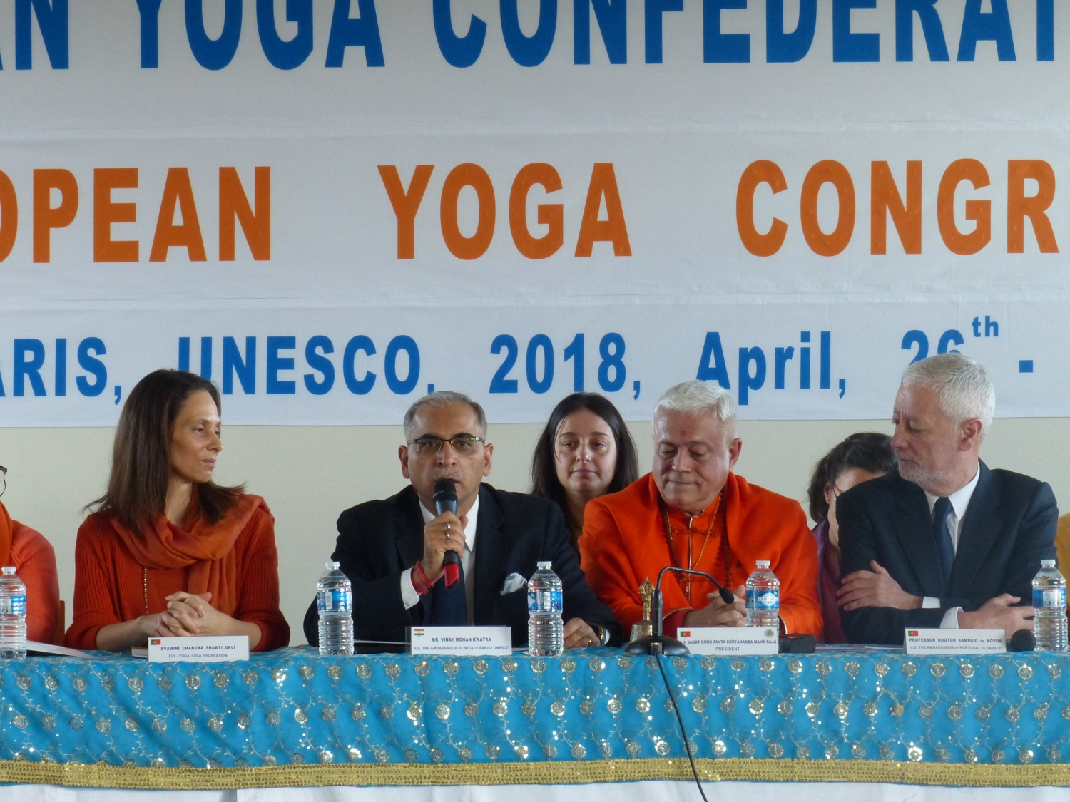 H. E. the Ambassador of India to UNESCO, Mr. Vinay Mohan Kwarta