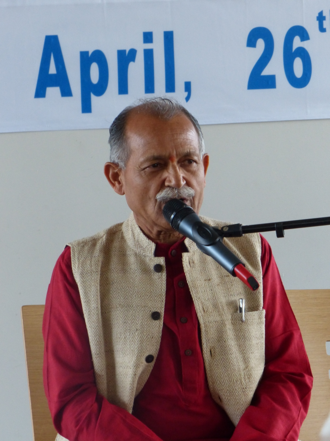 Former Ambassador Master Shrí Chandra Bhandari (Yoga & Ayurveda Institute, Indian – Polish Cooperation Center – Polska)