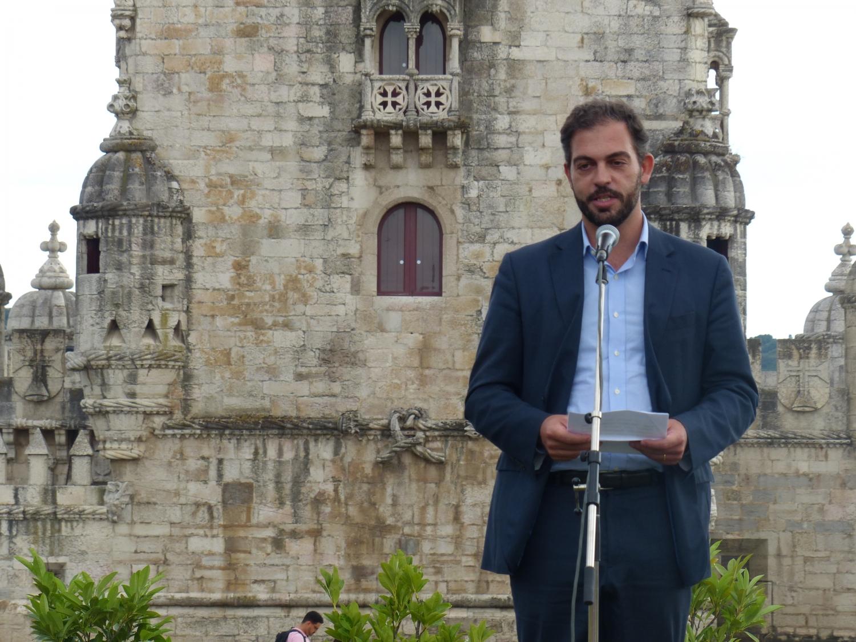 The Vice-President of the City Hall of Lisboa, Dr. Duarte Cordeiro