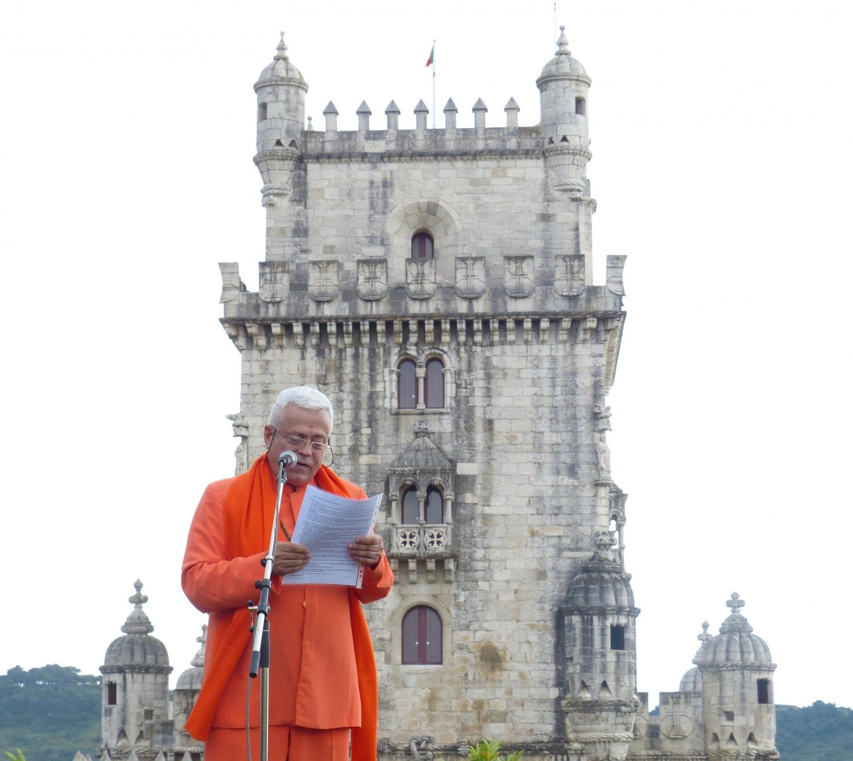 H.H. Jagat Guru Amrta Súryánanda Mahá Rája - President of the European Yoga Confederation and Portuguese Yoga Confederation