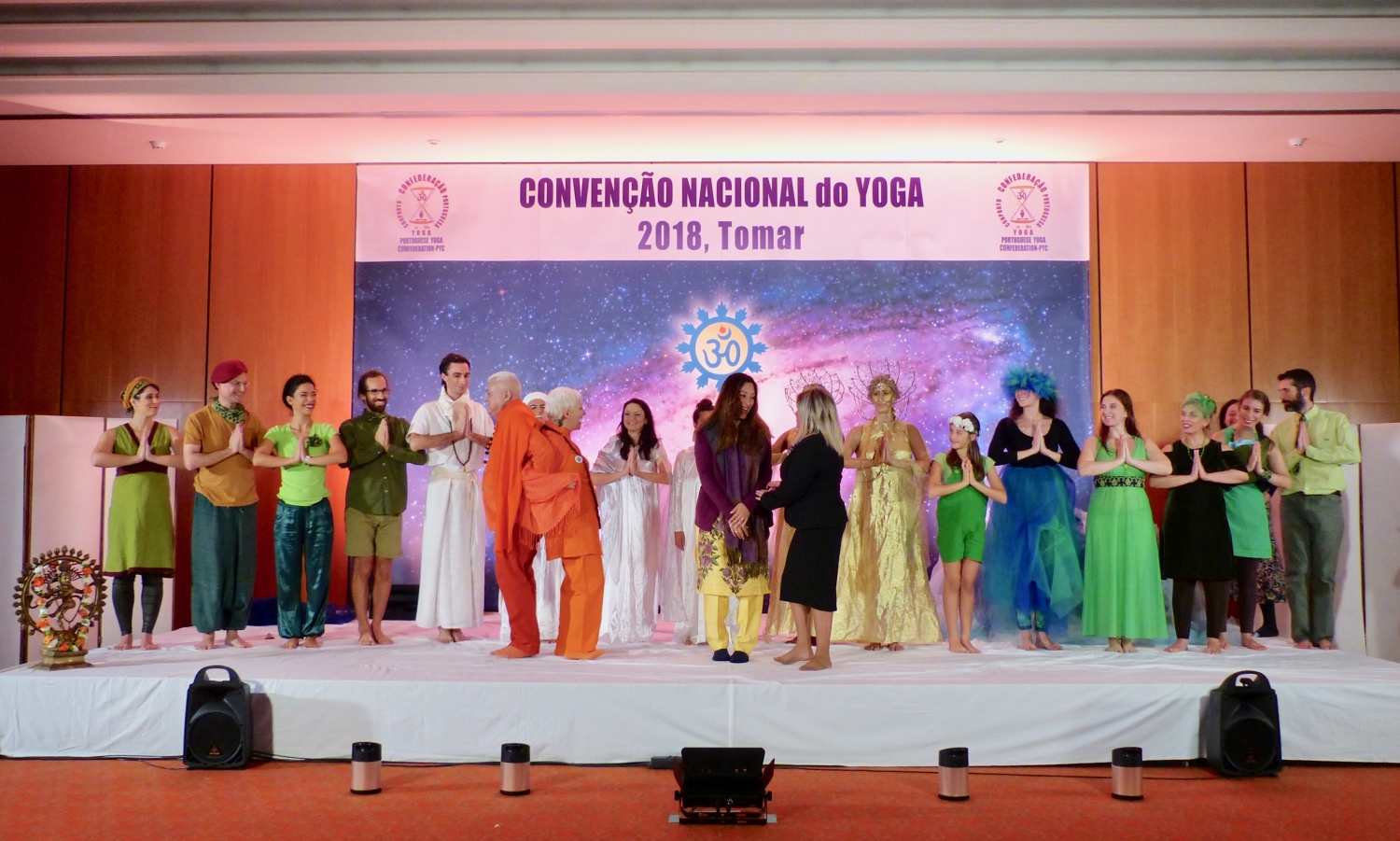 'A Purusha Tale. Seeing from Above : Grandsons of Abel. Sons of Cain' - Presentation by Máyá, Amateur Theater Group of the Portuguese Yoga Confederation da Confederação Portuguesa do Yoga