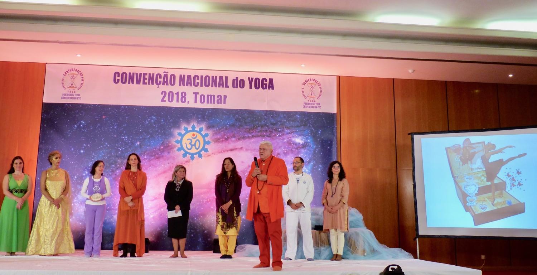 Speech by H.H. Param Guru Amrta Súryánanda Mahá Rája, President of the Portuguese Yoga Confederation