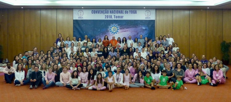 O Encerramento da Convenção Nacional do Yoga  - 2018