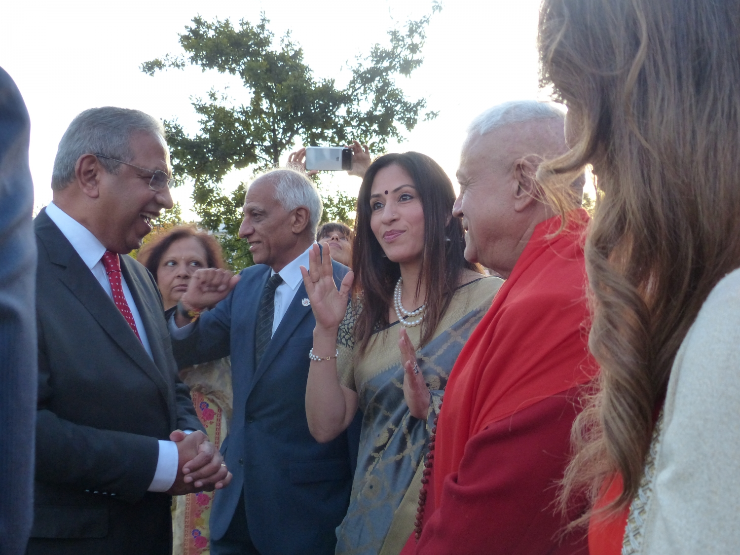 150th Anniversary of the Birthday of Gandhi Jí - 2019, October, 2nd - Hindu Community of Portugal