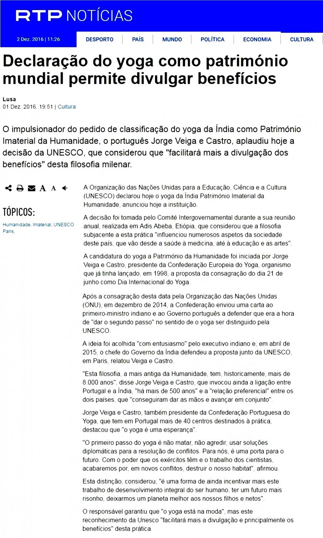 RTP Notícias - 2016.12.01