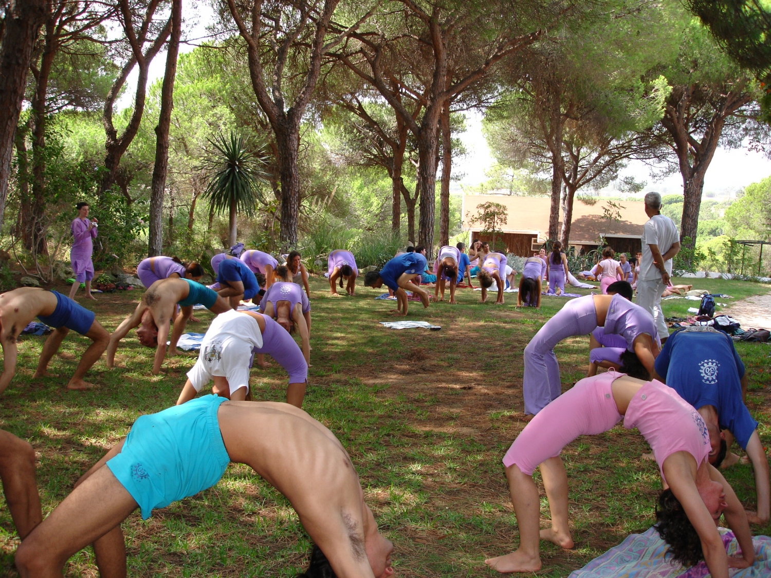 Semana Intensiva do Yoga - 2007 - Quinta da Calma, Algarve