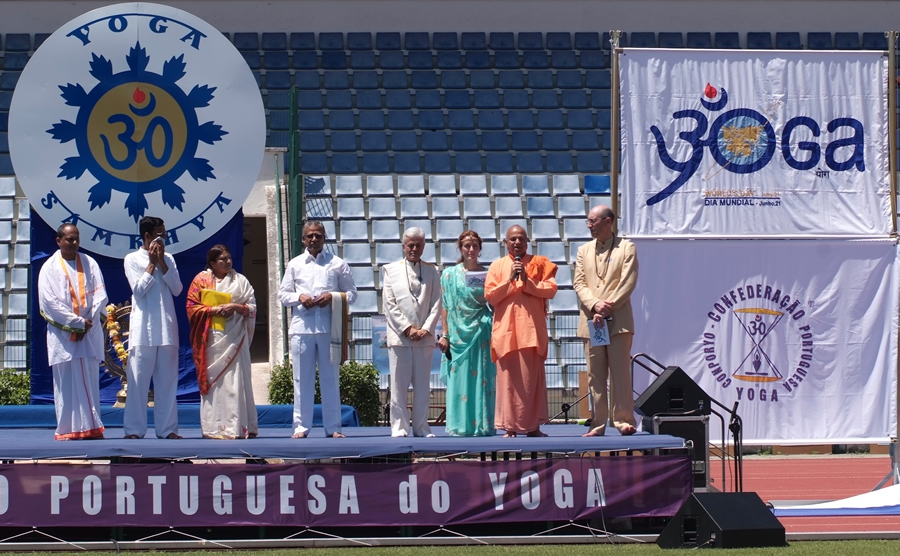 Dia Internacional do Yoga - 2009