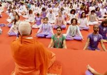 Mahá Sádhaná com o Guru Jí