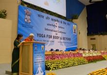 International Day of Yoga / IDY 2016 - International Conference - New Dillí, Índia - 2016, Junho 22 e 23