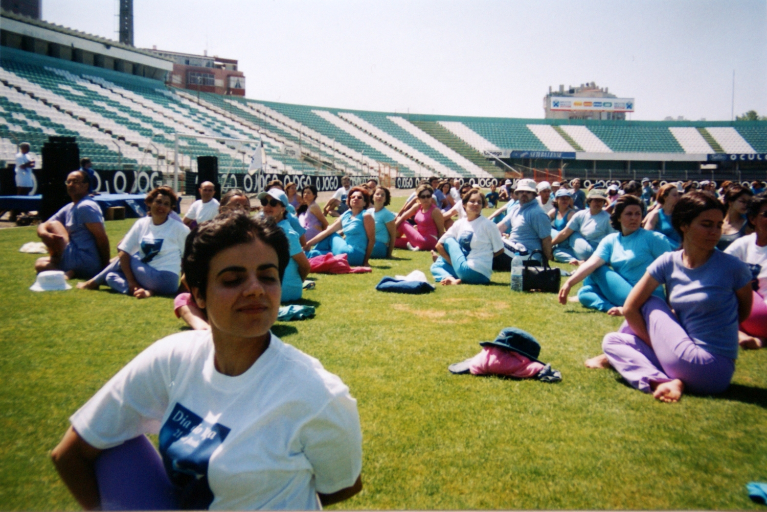 International Day of Yoga - IDY / Dia Internacional do Yoga - 2002