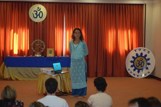 Apresentação pública sobre os Yoga Sámkhya e as 14 Disciplinas Técnicas do Yoga