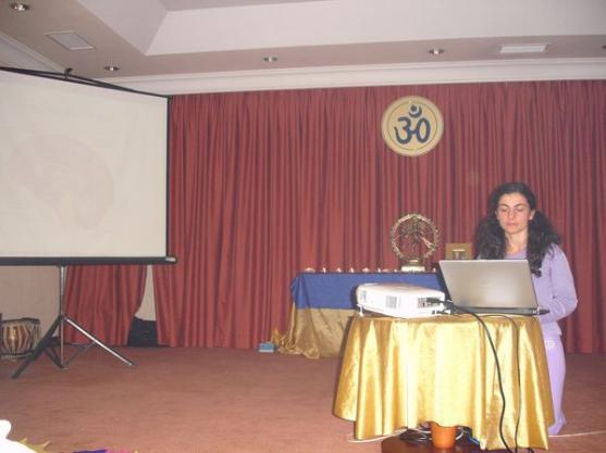 Conferência apresentada pela Mestra Sitá Deví - Catarina Ferreira