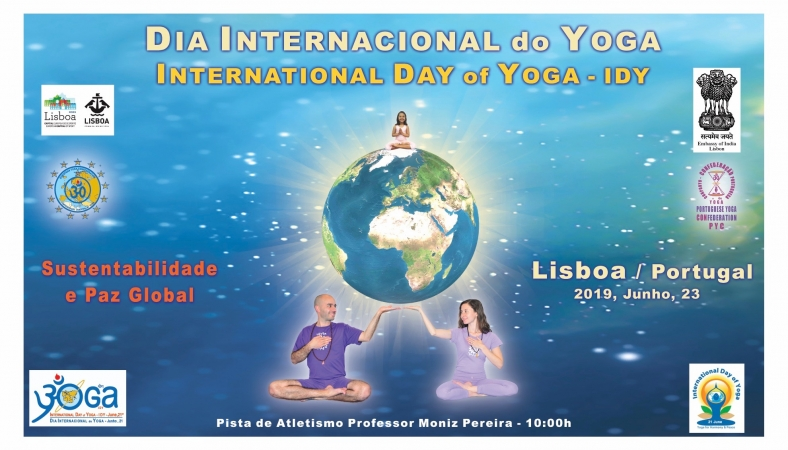 INTERNATIONAL DAY of YOGA - LISBOA - 2019, June, 23rd