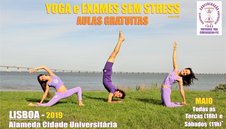 YOGA and STRESSFREE EXAMS - 2019