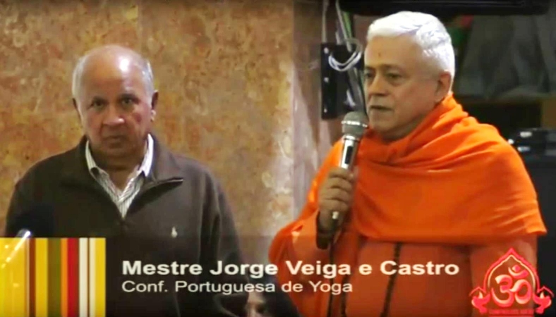 GURU JÍ HONORED BY THE HINDU COMMUNITY OF PORTUGAL