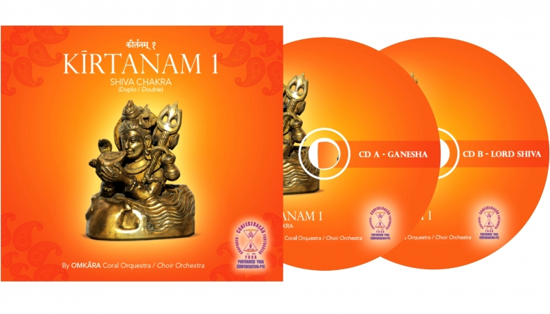 KĪRTANAM DOUBLE CD BY OMKĀRA - CHOIR ORCHESTRA OF THE PYC