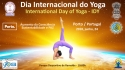 INTERNATIONAL DAY OF YOGA - IDY - PORTO, PORTUGAL - 2018, JUNHO, 24th