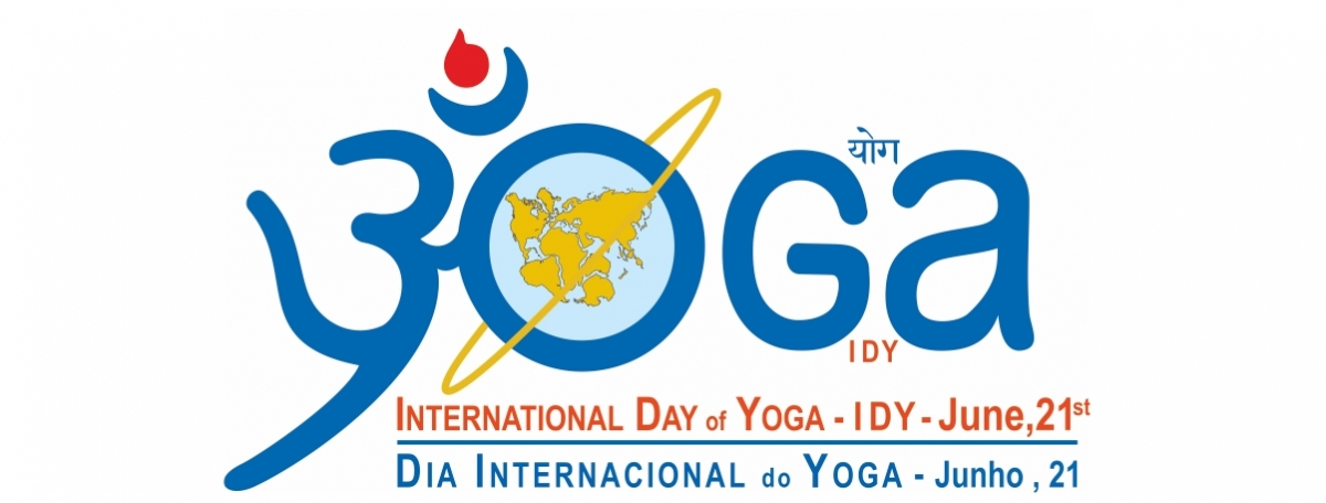2. Intrernational Day of Yoga - IDY / Dia Internacional do Yoga - logo
