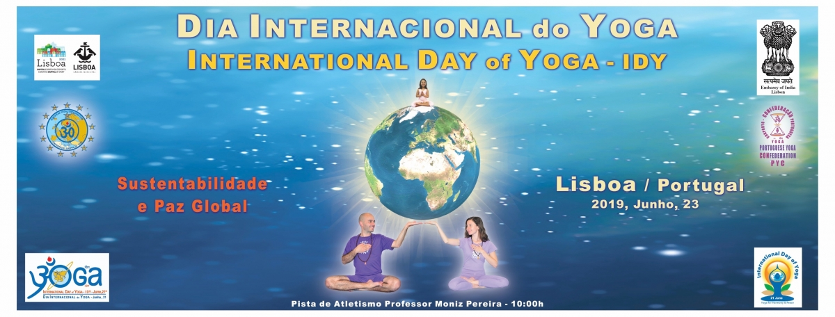 Dia Internacional do Yoga / International Day of Yoga IDY - 2019
