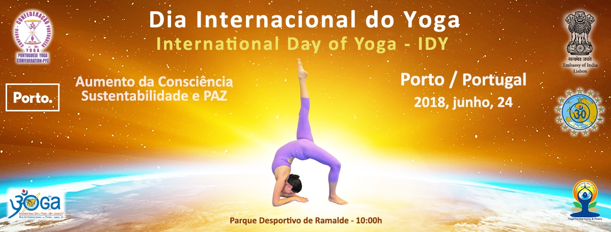 Dia Internacional do Yoga / International Day of Yoga IDY - 2018