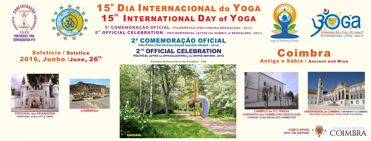 Dia Internacional do Yoga / International Day of Yoga IDY - 2016