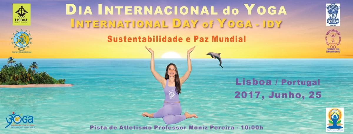 Dia Internacional do Yoga / International Day of Yoga IDY - 2017