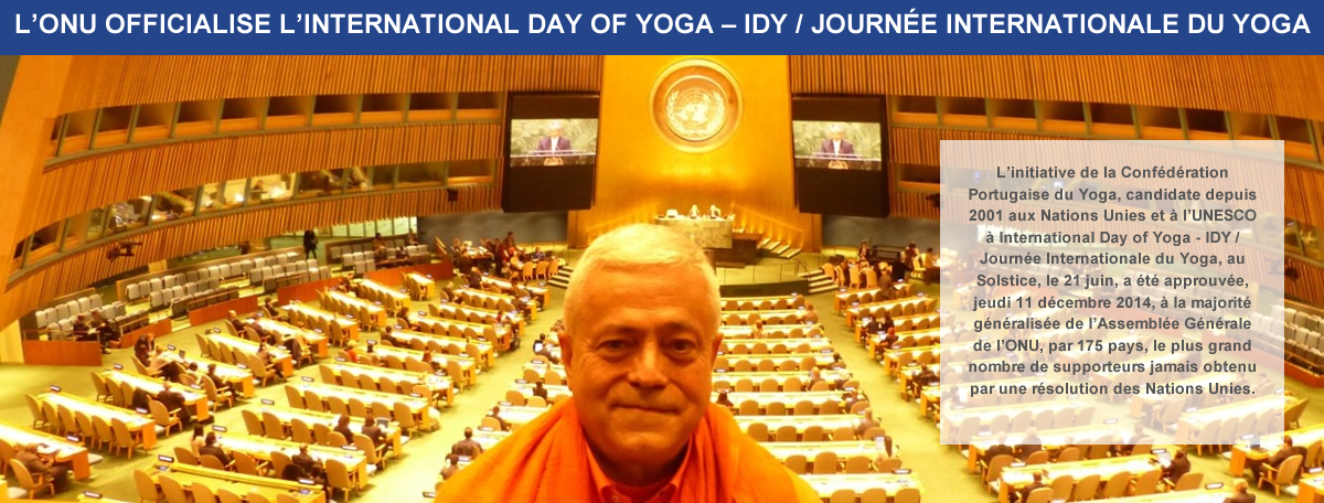 1. L'ONU a officialisé la Journée Internationale du Yoga